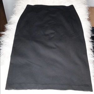 Vince Camuto black pencil skirt